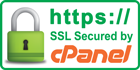 Website secured by cPanel 256-bit data encryption