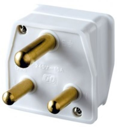 GO TRAVEL South African Travel Adaptor