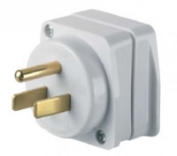 GO TRAVEL AU/NZ To American Travel Adaptor