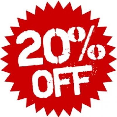 20% OFF the FULL marked price of ALL Winter and Summer Clothing