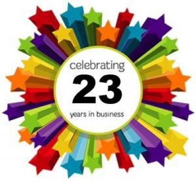 Celebrating 23 Years in Business