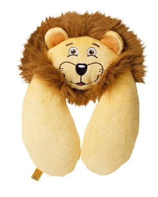 GO TRAVEL Lion Neck Pillow