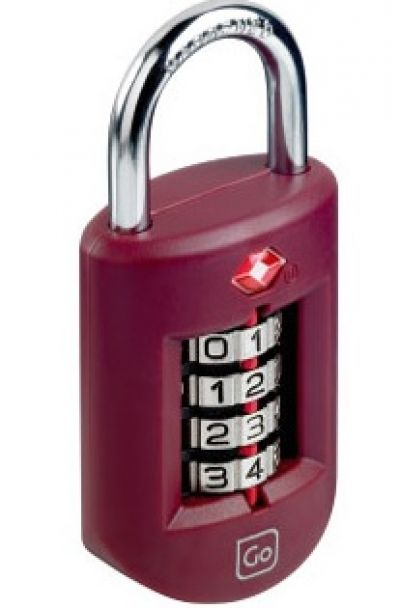 GO TRAVEL Heavy Duty Travel Sentry luggage Padlock