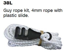 Guy Rope with plastic clip