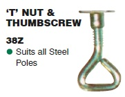 SUPEX T Nut and Thumscrew
