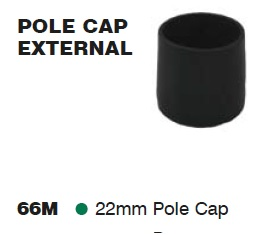 SUPEX Tent Pole External Cap 22mm