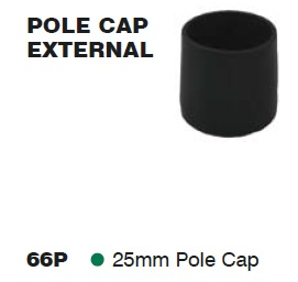 SUPEX Tent Pole Cap External 25mm