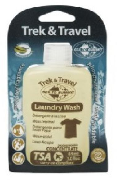 TREK and TRAVEL Laundry Wash