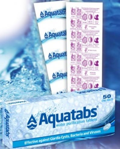 MEDENTECH Aquatabs Water Purification Tablets