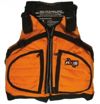 AXIS Kayak Life Jacket Small Adults 40-70 kg PFD Level 50