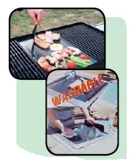 OUTDOOR MAGIC BBQ Liner Commerical Grade