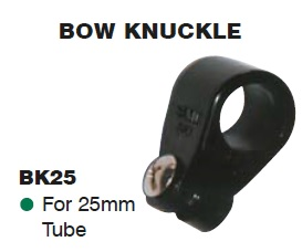 SUPEX Bow Knuckle for 25mm tube