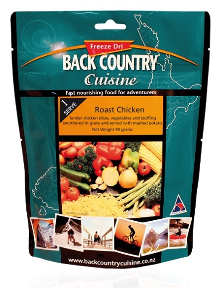 BACKCOUNTRY Roast Chicken Freeze Dried Food Two Serve