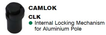 SUPEX Camlok internal Locking Mechanism for Aluminium Pole