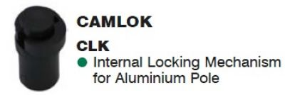 Camlok internal Locking Mechanism for Aluminium Pole
