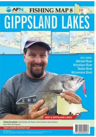 AFN Gippsland Lakes Fishing Map