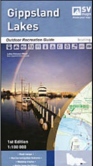 SV Gippsland Lakes Outdoor Recreation Map