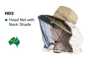 SUPEX Head Net with Neck Shade