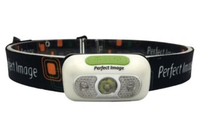 PERFECT IMAGE  USB Rechargeable Head Torch 230 lumens