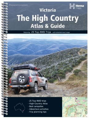 HEMA The High Country Atlas and Guide