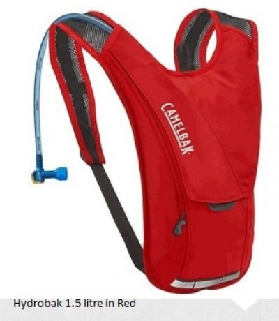 CAMELBAK Hydrobak 1.5 litre Hydration Pack in Red