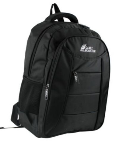 CAMEL MOUNTAIN MB1202 Black Day Pack
