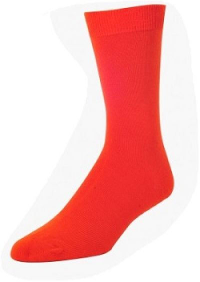 Wilderness Wear Mens Bamboo Socks Orange