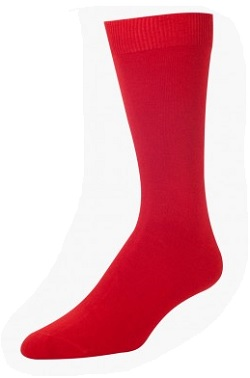 Wilderness Wear Mens Bamboo Socks Red