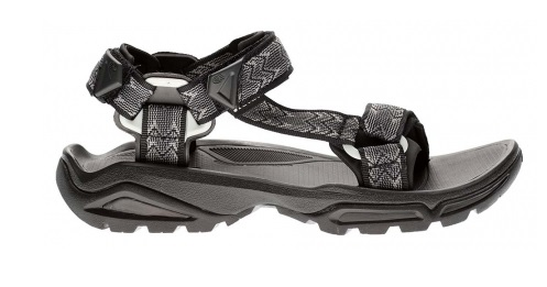 TEVA Mens Terra Fi 4 Sandal in Black