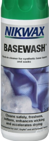 NIKWAX Base Wash cleaner and deodoriser for Base clothing