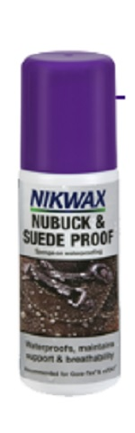 NIKWAX Nubuck and Suede waterproofing for footwear