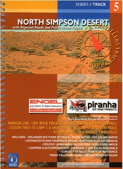 North Simpson Desert Outback Travellers Track Guide