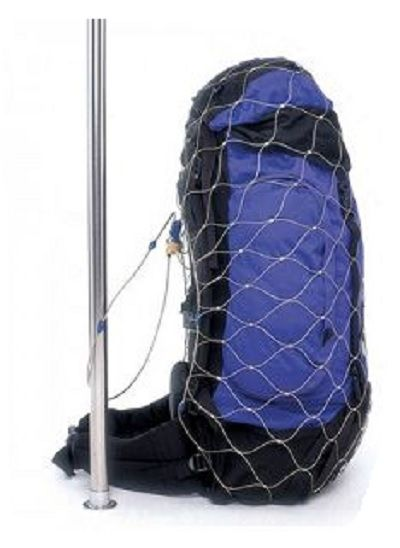 PACSAFE Anti theft mesh backpack and bag protector