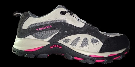 DIADORA Womens Peak Walking Shoe