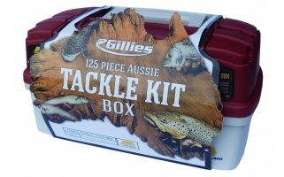 PLANO Aussie 125pce Fishing Tackle Kit Box