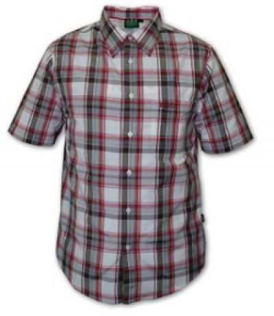 RIDGELINE Mens Crusader short sleeve check shirt