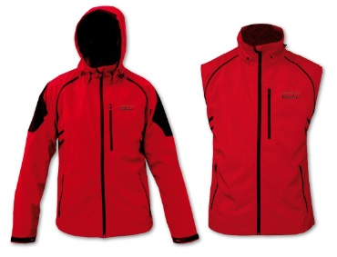 RIDGELINE Ladies Montana Vest and Jacket in Red