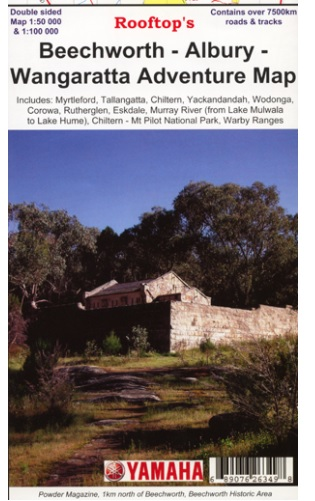ROOFTOPS MAPS Beechworth - Albury - Wangaratta Adventure Map