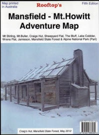 ROOFTOPS MAPS Mansfield to Mt. Howitt Adventure Map