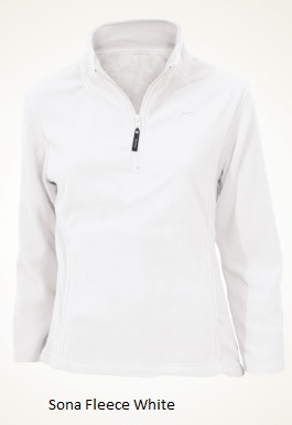 SHERPA Ladies Sona White Fleece 180gsm