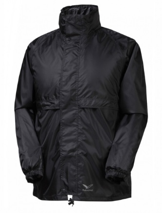 RAINBIRD Adults Stowaway Black Jacket
