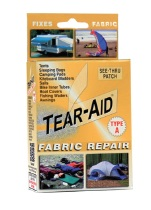 Tear Aid Type A Fabric Instant Repair Kit Gold Packaging