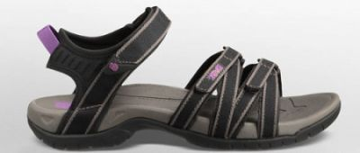 TEVA Ladies Tirra Sandal in Black/Grey