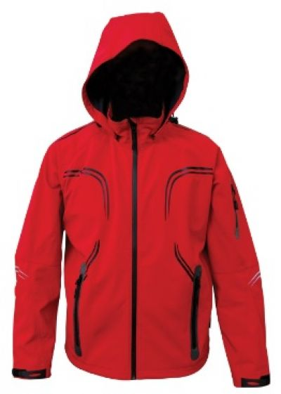 RIDGELINE Mens Tracer Jacket in Red