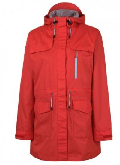 RAINBIRD Tucana Womens Long Jacket in Bright Red colour