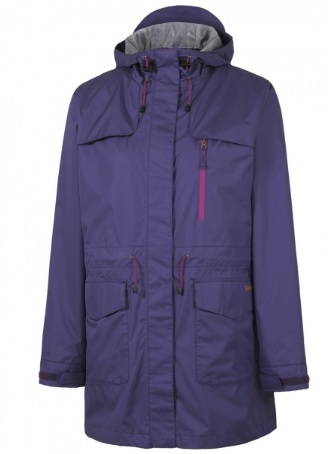 RAINBIRD Tucana Womens Long Jacket in Purple colour