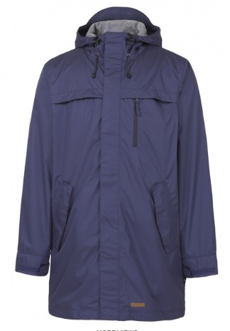 RAINBIRD Volans Mens Long Jacket in Blue Colour