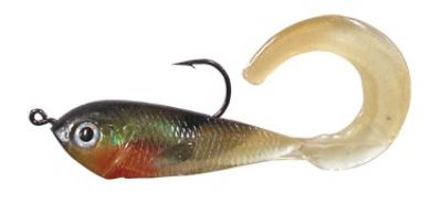 "JURO Wiggle Bait 2"" Colour GBB 6 pack"