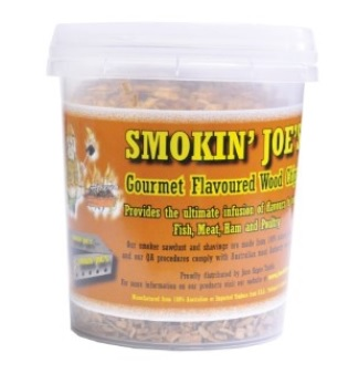 Smokin Joe's Wood Chips 1.2l reseal tubs of quality wood chips and flakes