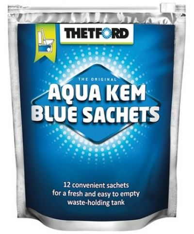 THETFORD Aqua Kem Blue Sachets Toilet Treatment